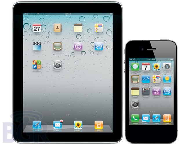 iPhone e iPad sem botão físico