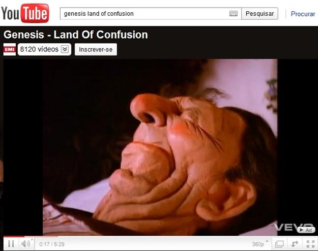 Exemplo de clipe encontrado no YouTube.