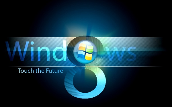 Logo falsa do Windows 8