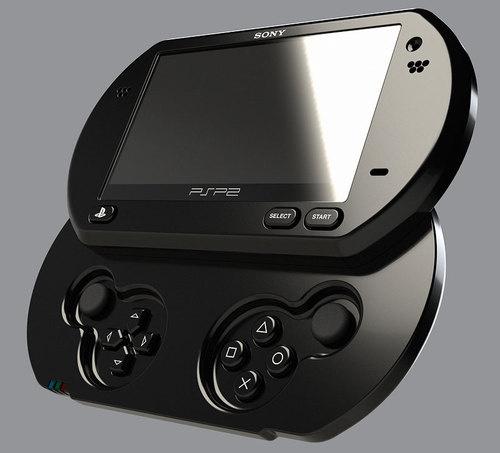 Mockup do novo PSP.