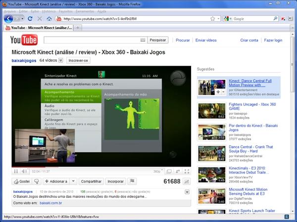 Passo 1: acesse o vídeo no YouTube