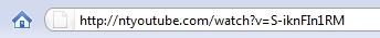 Passo 2: altere a URL