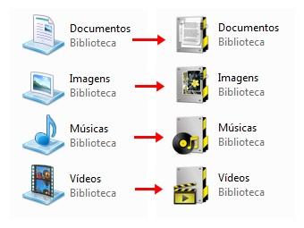 Novos ícones para as suas bibliotecas!