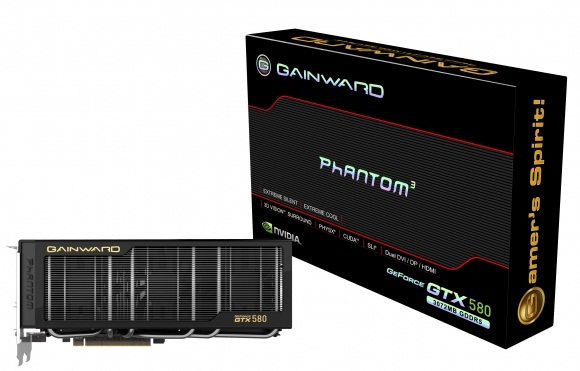 GeForce GTX 580 Phantom: nova placa de video da Gainward 32273