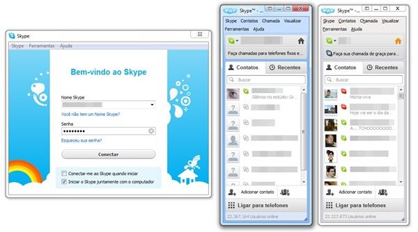 Várias instâncias do Skype no memso computador, sem precisar instalar nenhum outro software