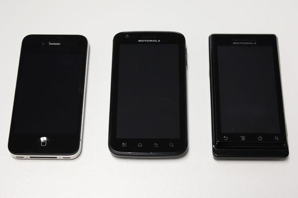 Comparação entre smartphones