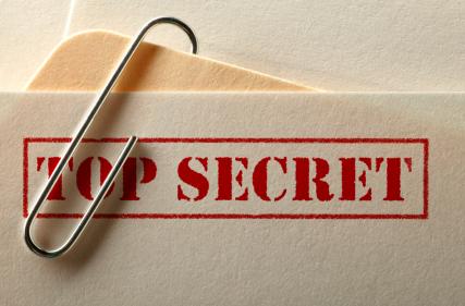 Informações secretas não são tão secretas