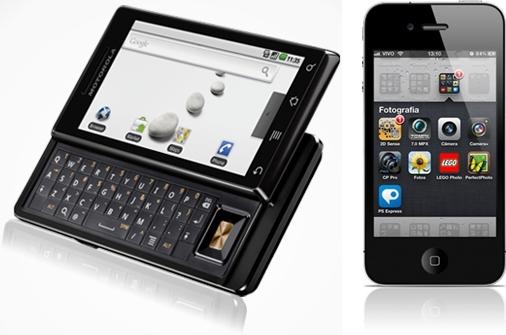 A briga mais voraz é entre iOS e Android