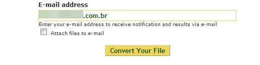 Preencha seu email