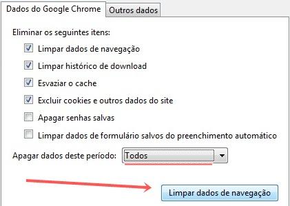 No Google Chrome.
