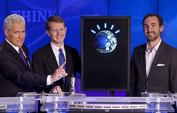 Watson participando do Jeopardy