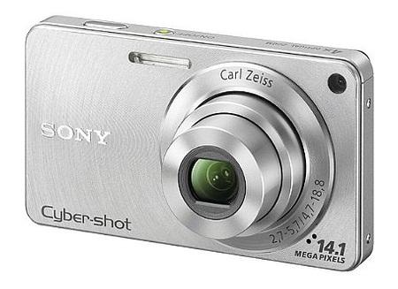 Câmera Digital Sony Cyber-Shot DSC-W350