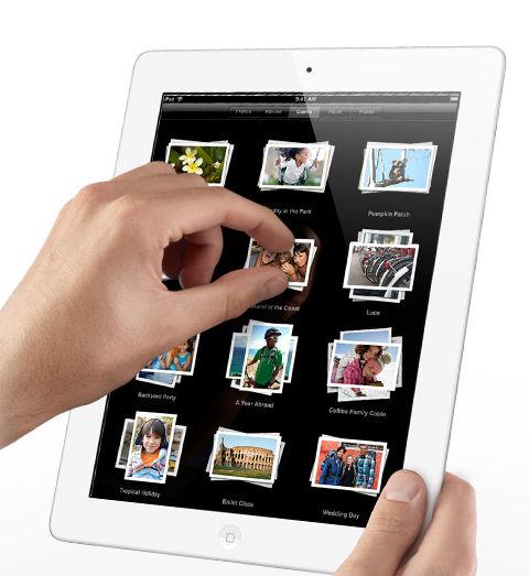 Visual do iPad