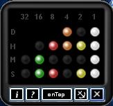Relógio binário para o seu Desktop