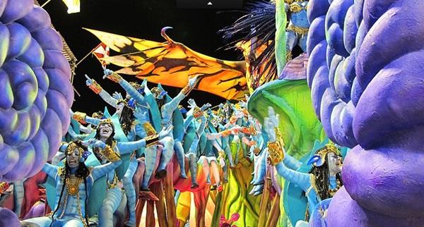 Carnaval carioca 2011 em 3D