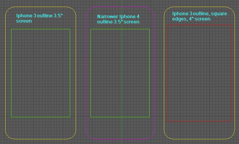 Tela do iPhone 5 poderá ter 4 polegadas