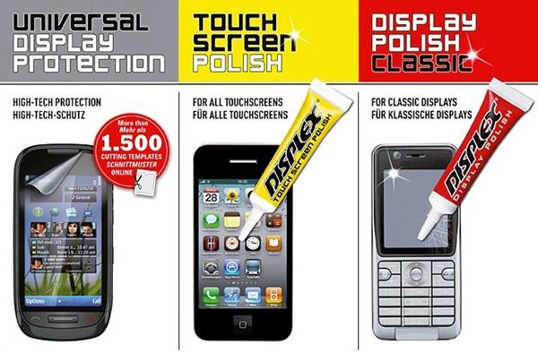 Displex: polidor para celulares