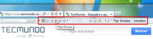 Controle o seu player diretamente do navegador