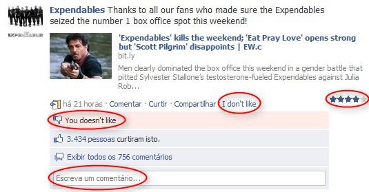 Adicione novas funções ao Facebook