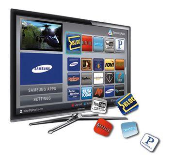TVs inteligentes chegam as lojas brasileiros
