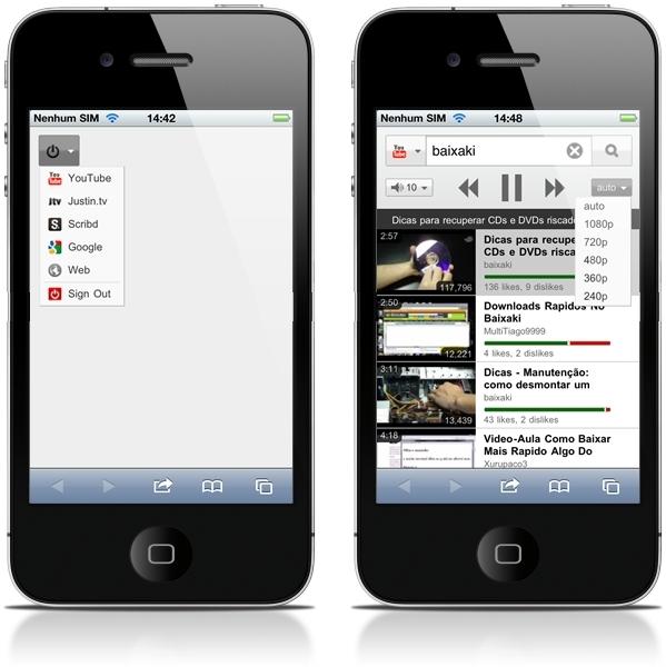TubeMote vira controle remoto no iPhone
