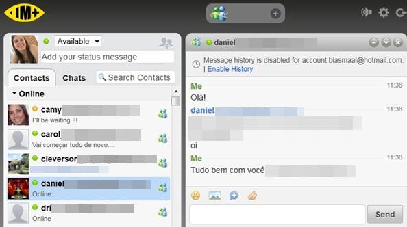IM Web Messenger