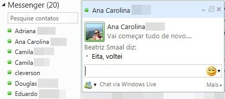 MSN pelo Hotmail