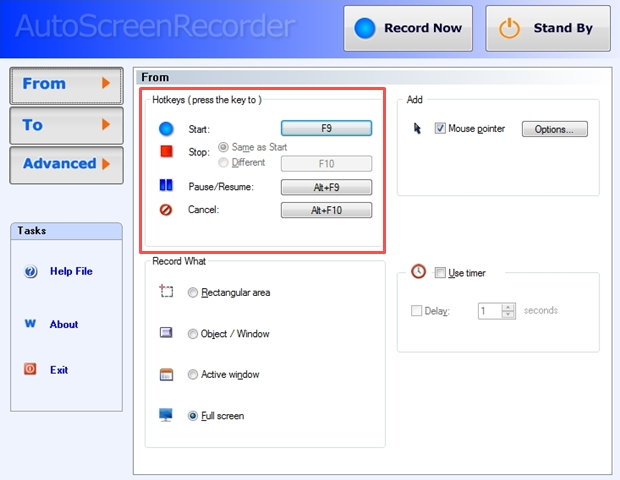 AutoScreenRecorder
