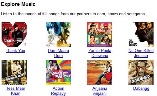 Discover Music: por enquanto apenas para indianos