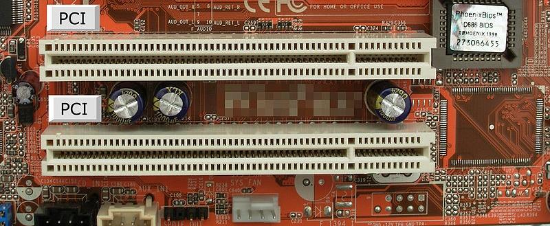 Slots PCI