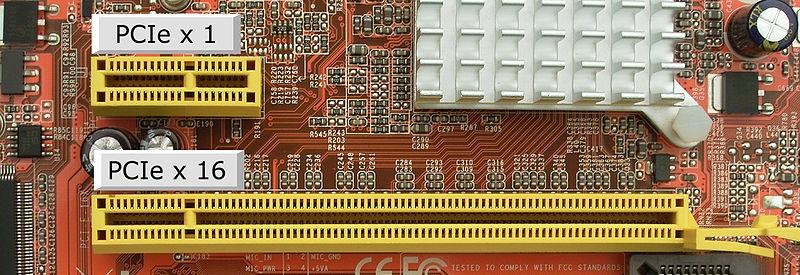 Slots PCI-Express