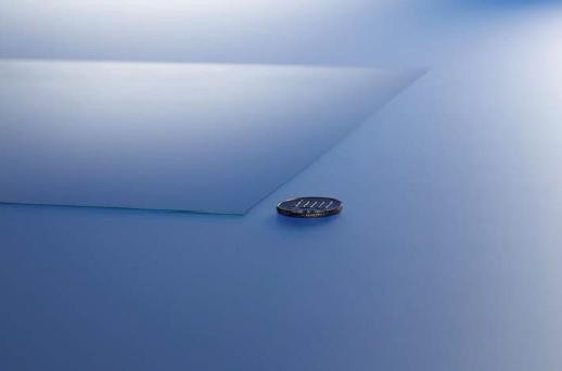 Substrato com vidro de 0,28 mm