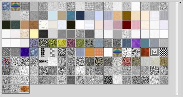 Adicione todas as texturas do programa de uma vez só.