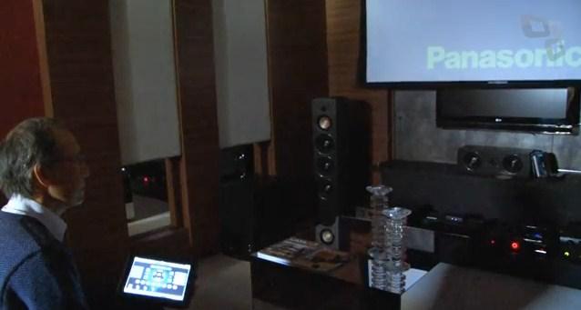Controle de áudio e vídeo com automação