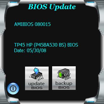 Aplicativo para atualizar a BIOS automaticamente.