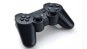 O controle SIXAXIS, para Playstation 3.