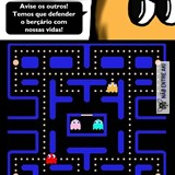 pac man o monstro....