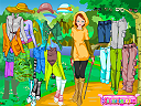 Safari Dressup Game