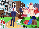 School Girl DressUp