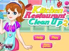 Kitchen Restaurant Clean Up 2