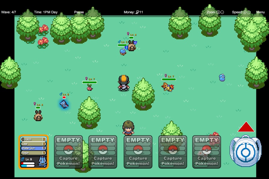 Pokemon tower defense 2 cheats codes