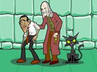 Obama Potter and the Magic Coin