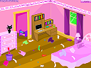 Pinky's Pickup Bedroom