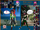 Ninja Versus Pirate Dressup Game