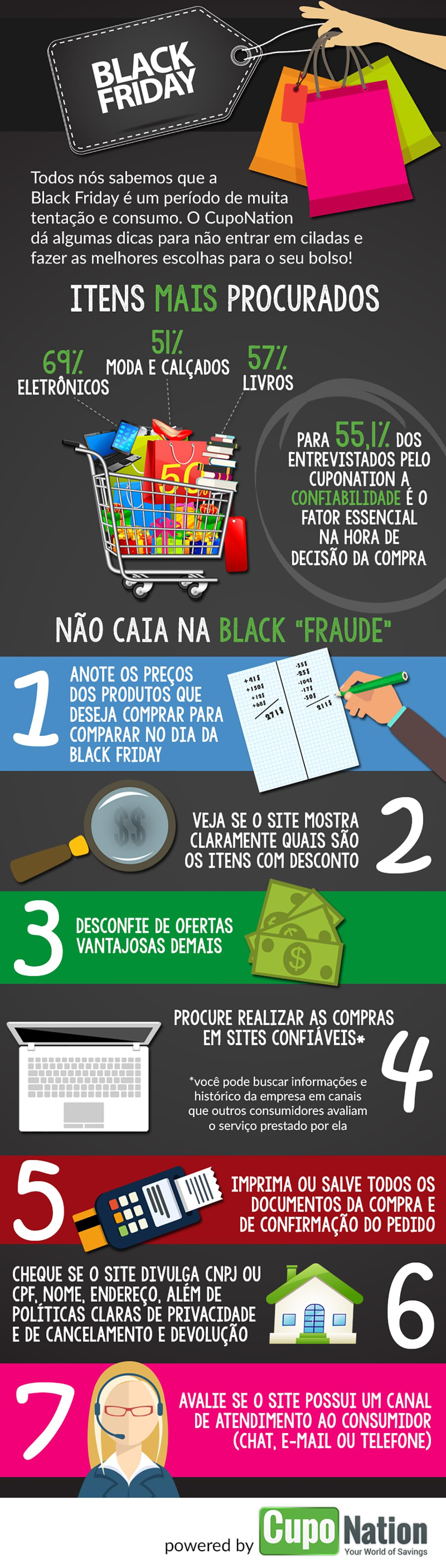 Eletrônicos serão os itens mais procurados na Black Friday [infográfico]
