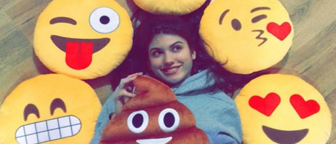 Empresa brasileira que vende almofadas de emojis já faturou R$ 1,5 milhão