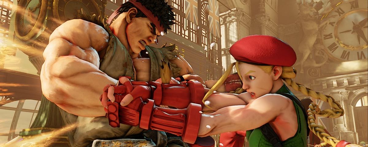 Controles de PlayStation 3 funcionarão em Street Fighter V para PS4