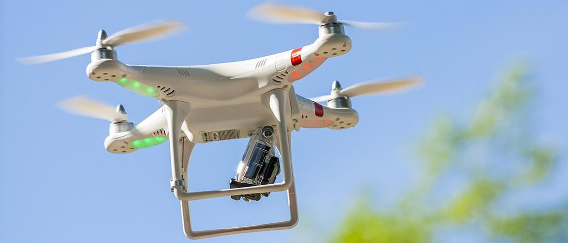 A casa caiu, drones: 808 aeroportos vão banir vocês
