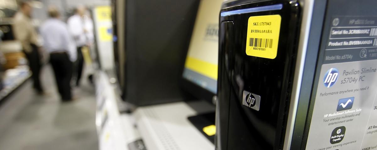 Envios de PCs para lojas atingem menores níveis globais desde 2007