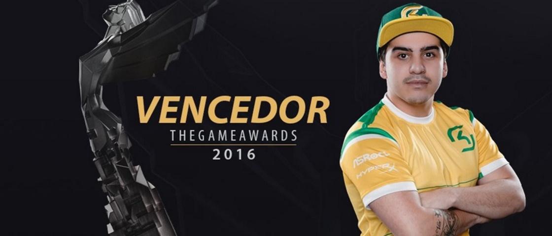 É do Brasil! Coldzera leva prêmio de melhor jogador de eSport no TGA 2016